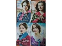 Anna Jacobs The Kershaw Sisters series like new