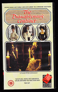 PETER-GREENAWAY-THE-DRAUGHTSMAN-039-S-CONTRACT-VHS-PAL-UK-VIDEO