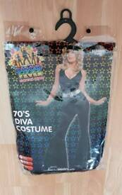 70s Diva fancy dress outfit