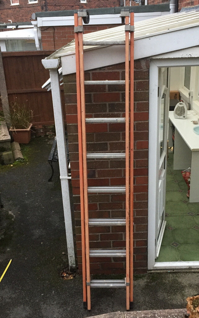Small Aluminium double Ladder 8 Ft to 16 Ft
