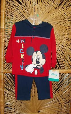 Disney Infant children cloths Mickey Mouse Newborn to 18 months Pants / Top NWT