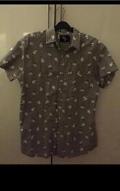 Men's Christmas snowman shirt xs