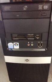 "HP DX2400 Minitower with HP 17"" Screen"