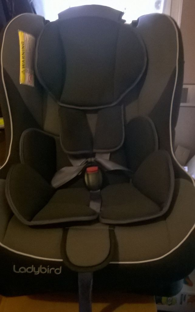 Ladybird car seat 0 +1 up to 22kgs, only used a couple of times for