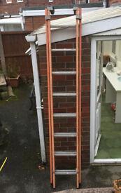 8 Ft Aluminium double Ladder