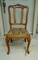 DINING CHAIRS FRENCH PROVINCIAL, SET 6