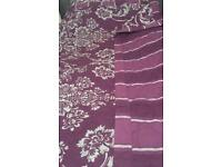 Double bed throw - reversible