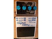 Boss DD-7 - Digital Delay Guitar Pedal.
