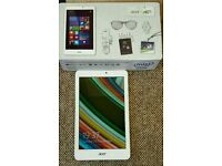 Acer iconic Tab 8 complete in box with 3 Month warranty