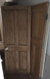Victorian 4 Panel Door x 2