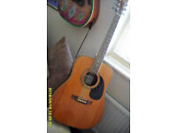 WF 400 6 String Acoustic Right hand player form WESTFIELD. Nice condition. Mew String added