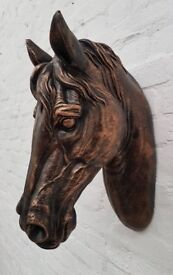 Wall Mounted Horse Head (DELIVERY AVAILABLE)