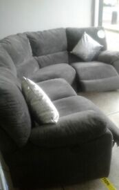 Newe lazy boy grey electric corner recliner