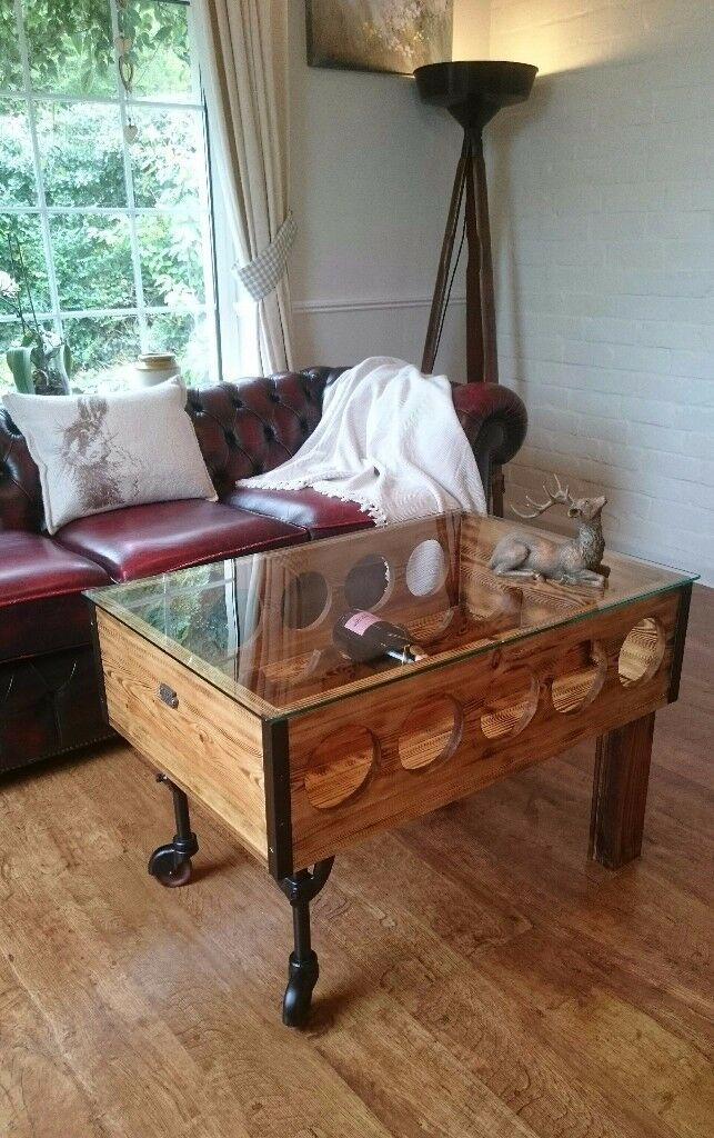 Rustic shabby chic coffee table