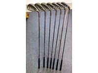 Ping Karsten Irons 5-SW (7 Irons) Black Dot / Ping Shafts & grips