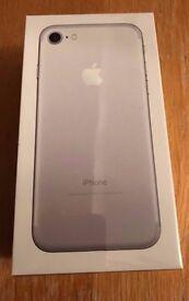 Apple IPhone 7 128gb Silver Smartphone Unlocked - Unopened Silver Unlocked