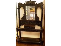 Stunning Victorain Ebonised Hall Stand - WE CAN DELIVER!