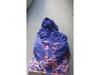 Ladies Trespass ski jacket. Size 16. Worn once