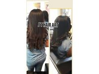 Afro Caribbean, Mixed Race, European, Caucasian, Asian Human Hair Weave Extensions, Braids Fitting