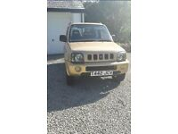 Suzuki jimny. Low mileage. Full service history. One previous owner.