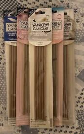 New Yankee candle pre-fragrance Reed Wooden sticks