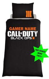 Call Of Duty Black Ops 3 ; Single Duvet