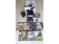 Boxed Nintendo Gamecube, all leads, official controller, memory card & games - Excellent condition