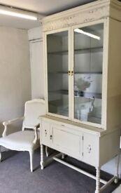 Vintage Oak Glazed Dresser