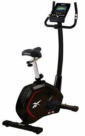 Reebok ZR9 Exercise Bike, original manuals, LCD screen, 19 programmes, heart monitor, 9kg fly wheel