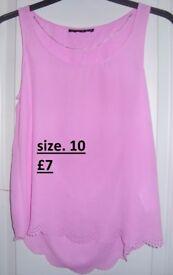 pink shirt/top