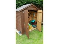 Wooden garden shed 6ft × 4ft (good condition)