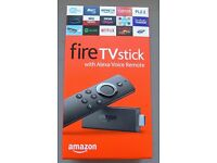 All-New Fire TV Stick with Alexa Voice Remote | Streaming Media Player KODI, MOBDRO etc