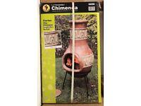 Clay Chimenea Woodburner - Cortez BNIB