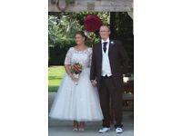 Gorgeous Lou Lou Wedding Dress size16/18