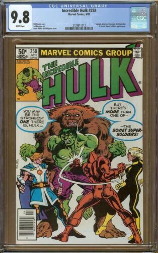Incredible Hulk #258 CGC 9.8 Soviet Super-Soldiers
