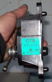 Renault Megan MK II electronic throttle pedal unit