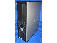 DELL OPTIPLEX 380 2.93GHZ CORE 2 DUO 250GB HDD 4GB RAM