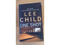 One Shot by Lee Child, ninth in Jack Reacher series good condition