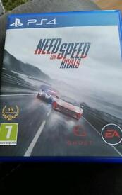 PS4 Playstation Need for Speed Rivals Game £10