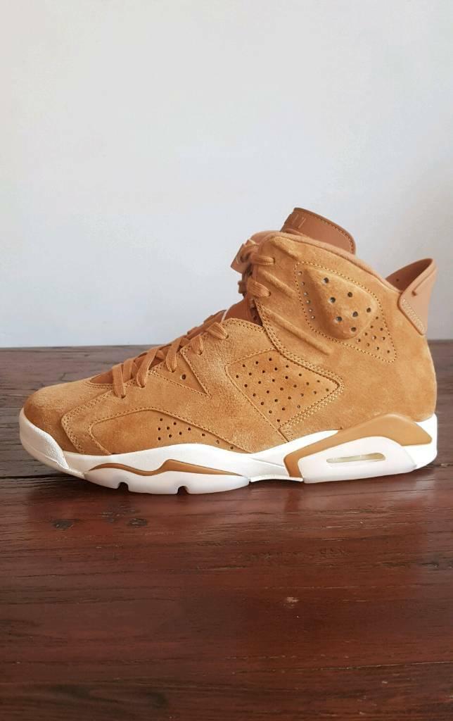 ee7b1f1efabb Nike Air Jordan 6 Wheat • UK 10 EU 45 US 11 • BNIB