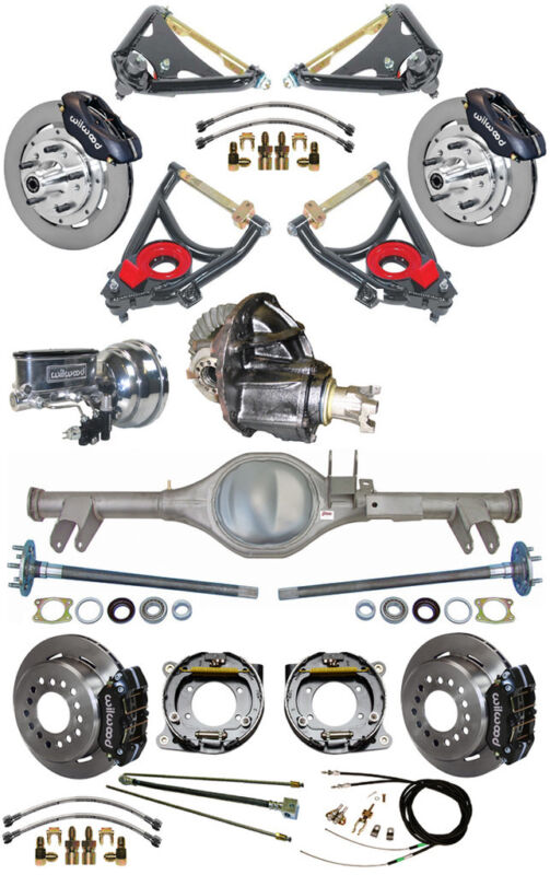 New Suspension & Wilwood Brake Set,currie Rear End,control Arms,posi Gear,596431