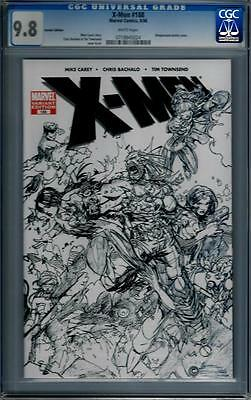 Marvel Comics X-Men (1991 Series) # 188 Sketch Variant CGC 9.8 NM/MT