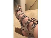 Moda In Pelle gladiator style sandal