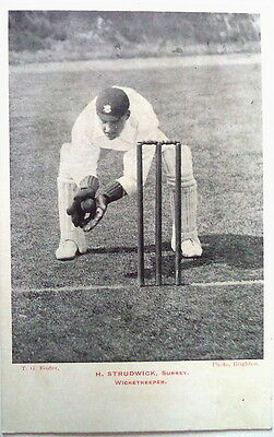 HERBERT STRUDWICK ENGLAND TO AUSTRALIA 1903-4 POSTCARD