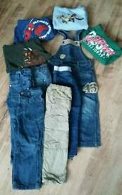 Boys dungarees, jeans & jumpers size 3-4 years