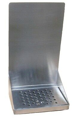 Draft Beer Tower Wall Mount Drip Tray 8 L-w S.s.grill - Drain Dtwm8ss