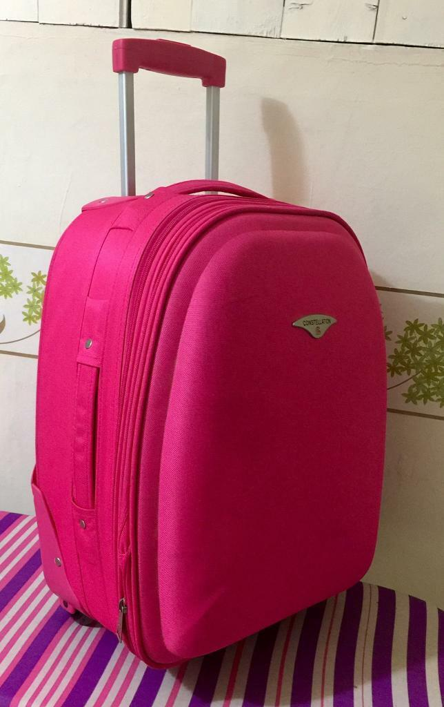 Pink hand carry bag