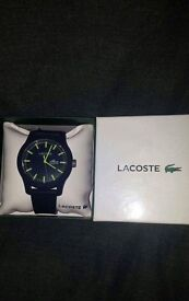 Lacoste watch brand new