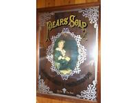 Vintage Pears Soap Mirror