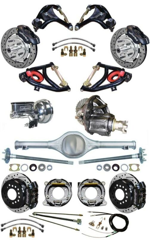 New Suspension & Wilwood Brake Set,currie Rear End,control Arms,posi Gear,555733